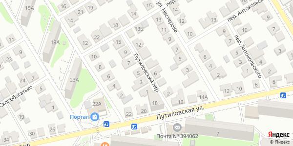 Путиловский Переулок в Воронеже