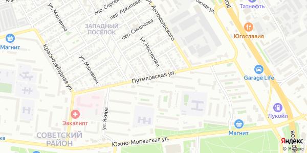 Путиловская Улица в Воронеже