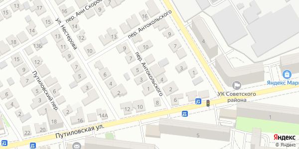 Антокольского Переулок в Воронеже