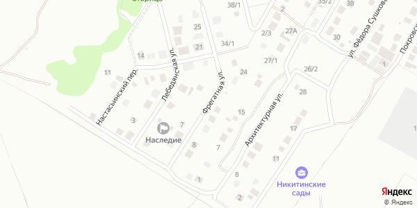 Фрегатная Улица в Воронеже