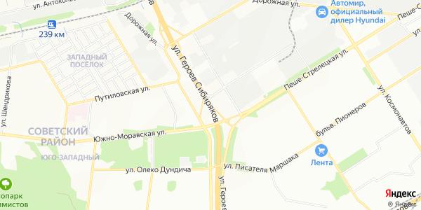Героев Сибиряков Улица в Воронеже