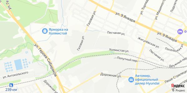 Холмистая Улица в Воронеже