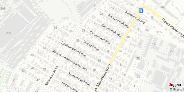 Ямской Переулок в Воронеже