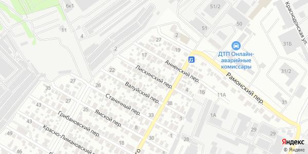 Лискинский Переулок в Воронеже