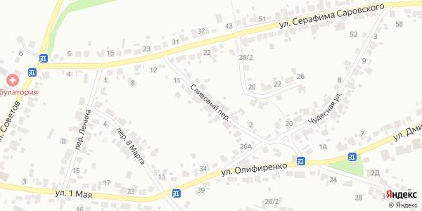 Сливовый Переулок в Воронеже