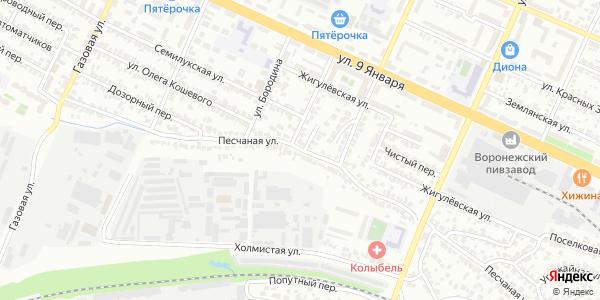 Песчаная Улица в Воронеже