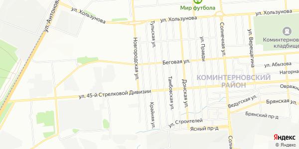 Крайняя Улица в Воронеже