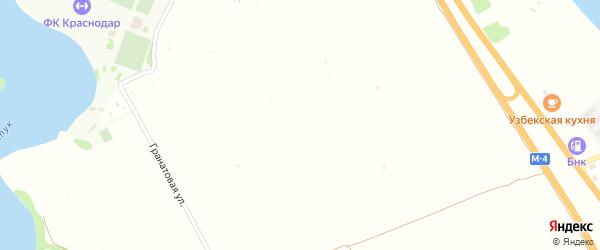 Красная улица на карте садового некоммерческого товарищества Адыгеи с номерами домов