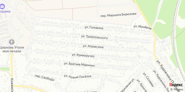 Апраксина Улица в Воронеже