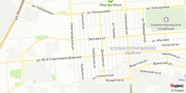 Тамбовская Улица в Воронеже