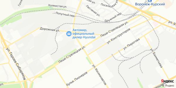 Пеше-Стрелецкая Улица в Воронеже