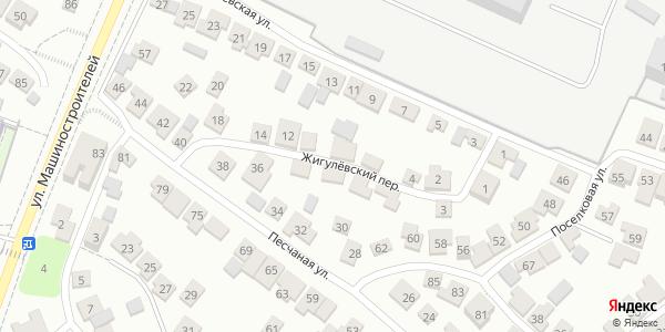 Жигулевский Переулок в Воронеже
