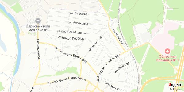 Церковная Улица в Воронеже