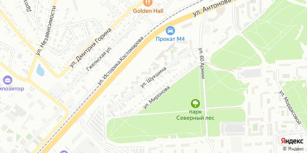 Шукшина Улица в Воронеже