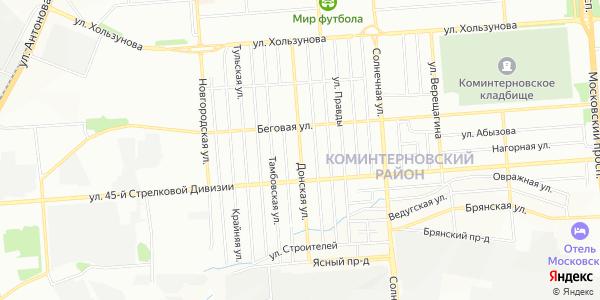 Донская Улица в Воронеже