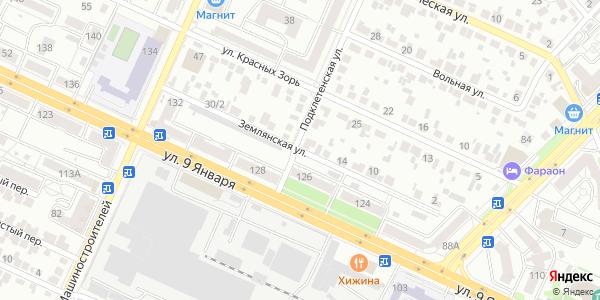Землянская Улица в Воронеже