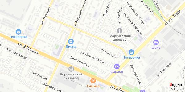 Вольная Улица в Воронеже
