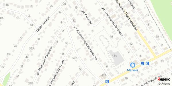 Архитектора Быховского Улица в Воронеже