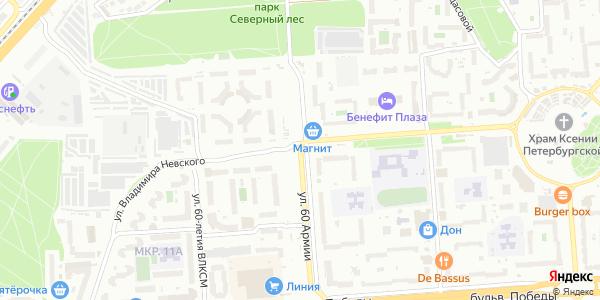 Владимира Невского Улица в Воронеже