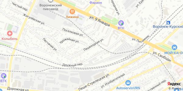 Пешеходная Улица в Воронеже
