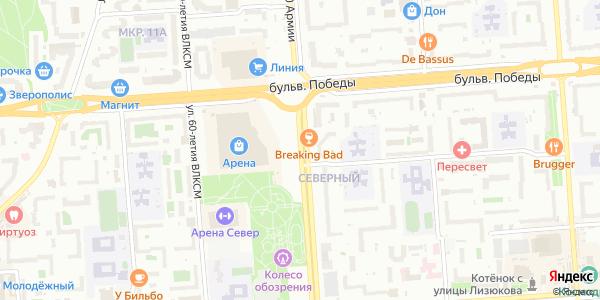 60 Армии Улица в Воронеже