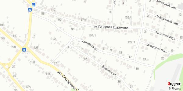 Танковая Улица в Воронеже