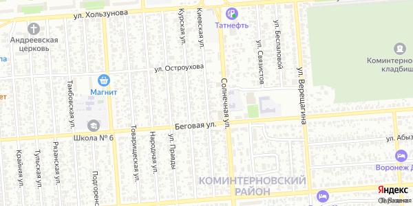 Киевская Улица в Воронеже