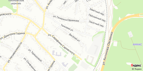 Веселая Улица в Воронеже
