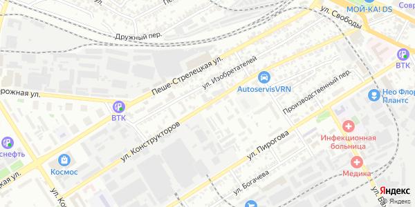 Конструкторов Улица в Воронеже