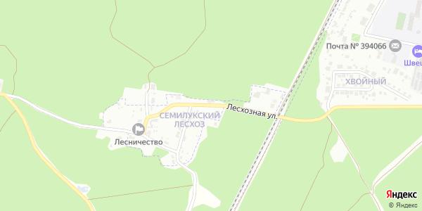Лесхозная Улица в Воронеже