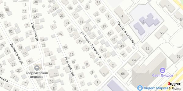 Ивана Туркенича Улица в Воронеже