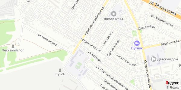 Астраханская Улица в Воронеже