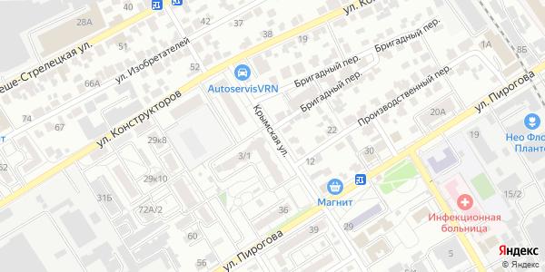 Крымская Улица в Воронеже