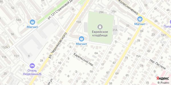 Молдавский Переулок в Воронеже