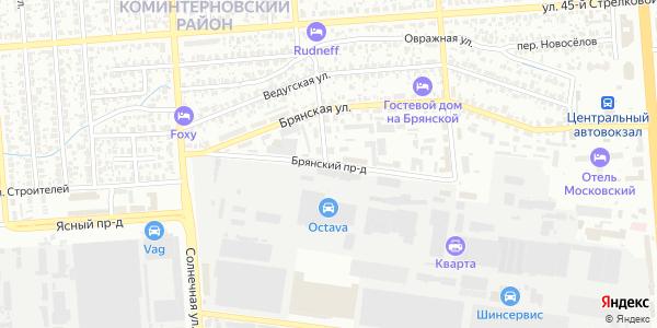 Брянский Проезд в Воронеже