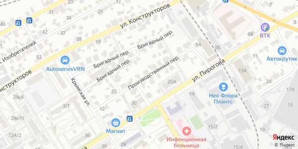 Производственный Переулок в Воронеже