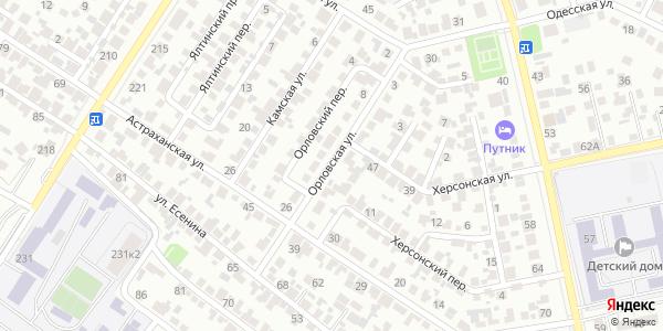 Орловская Улица в Воронеже