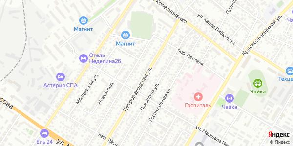 Петрозаводская Улица в Воронеже