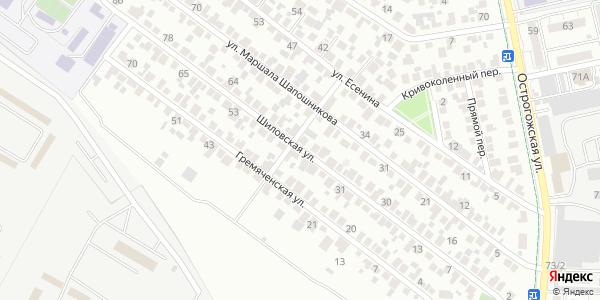 Шиловская Улица в Воронеже