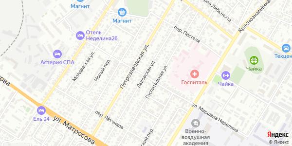 Львовская Улица в Воронеже
