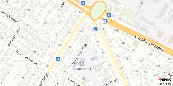 Острогожский Проезд в Воронеже