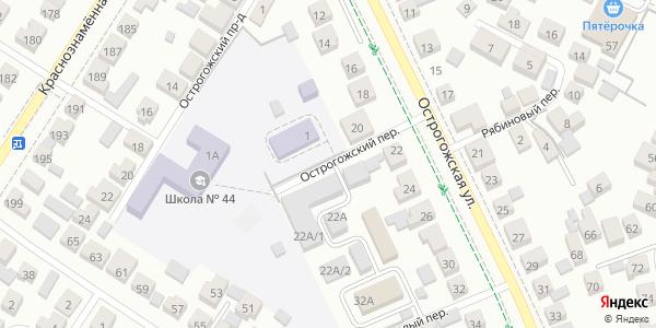 Острогожский Переулок в Воронеже