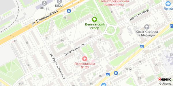 Депутатская Улица в Воронеже