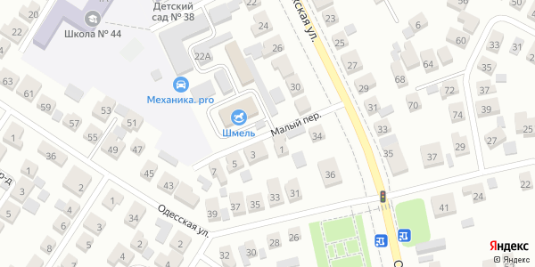 Малый Переулок в Воронеже