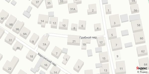 Грибной Переулок в Воронеже