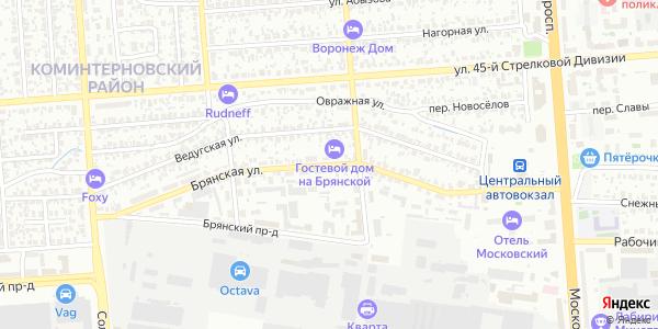 Брянская Улица в Воронеже