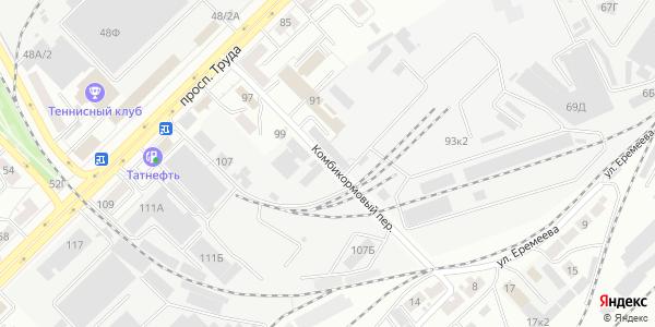 Комбикормовый Переулок в Воронеже