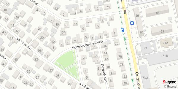 Кривоколенный Переулок в Воронеже