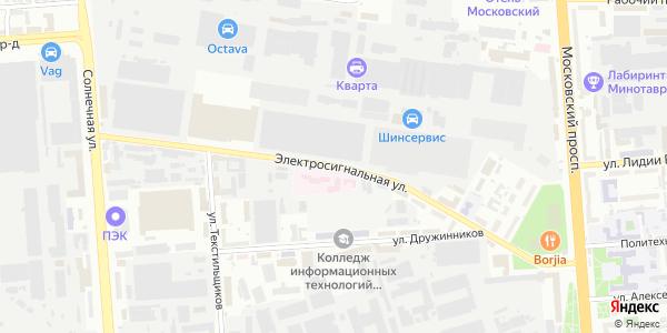 Электросигнальная Улица в Воронеже
