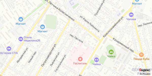 Пестеля Переулок в Воронеже